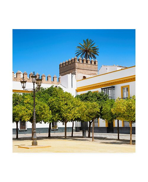 "Trademark Global Philippe Hugonnard Made in Spain 3 Alcazar of Seville Canvas Art - 15.5"" x 21"""