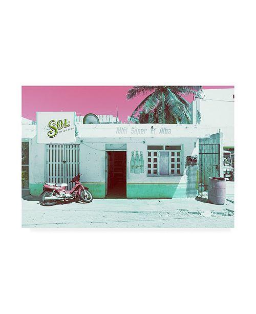 """Trademark Global Philippe Hugonnard Viva Mexico Mini Supermarket Vintage III Canvas Art - 36.5"""" x 48"""""""