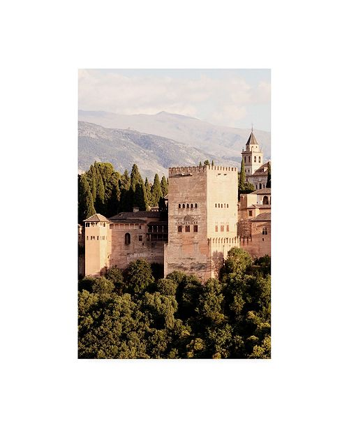 """Trademark Global Philippe Hugonnard Made in Spain the Majesty of Alhambra III Canvas Art - 19.5"""" x 26"""""""