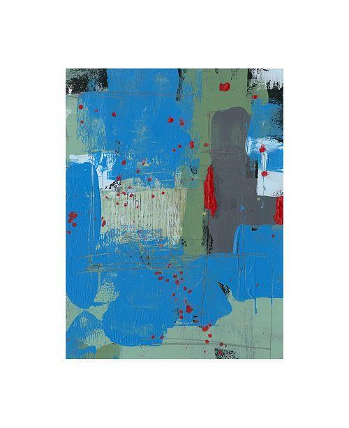 "Trademark Global Regina Moore Integrated Circuit I Canvas Art - 27"" x 33.5"""