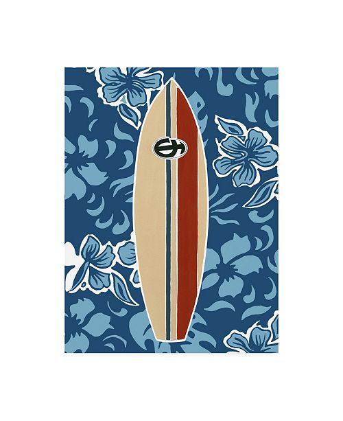 "Trademark Global Ethan Harper Endless Summer I Childrens Art Canvas Art - 19.5"" x 26"""