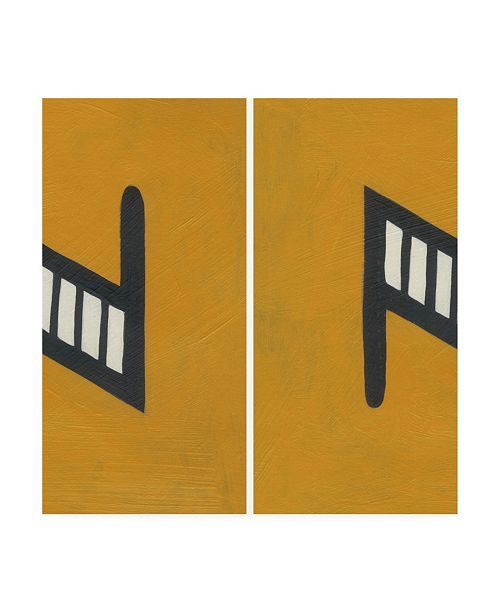 "Trademark Global Chariklia Zarris Luciens N 6 Up Canvas Art - 19.5"" x 26"""