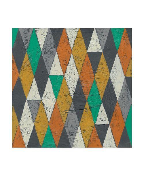 "Trademark Global Chariklia Zarris Luciens Pattern I Canvas Art - 15.5"" x 21"""