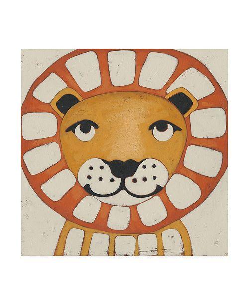 "Trademark Global Chariklia Zarris Zoo Portrait III Canvas Art - 15.5"" x 21"""