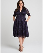 022fdbb8b0f Kiyonna Women's Plus Size Mon Cherie Lace Dress