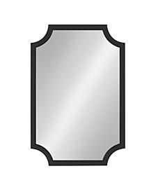 """Hogan Framed Scallop Wall Mirror - 24"""" x 36"""""""