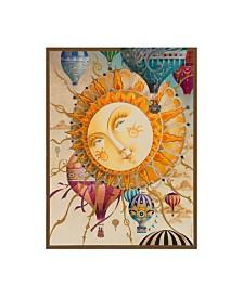 """David Galchutt Victorian Soaring Canvas Art - 36.5"""" x 48"""""""