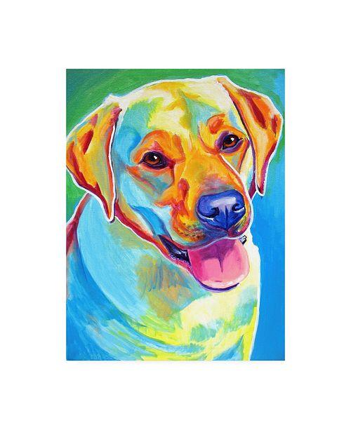 """Trademark Global DawgArt May Canvas Art - 27"""" x 33.5"""""""