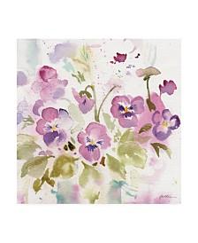 """Sheila Golden Viola Impressions Canvas Art - 36.5"""" x 48"""""""