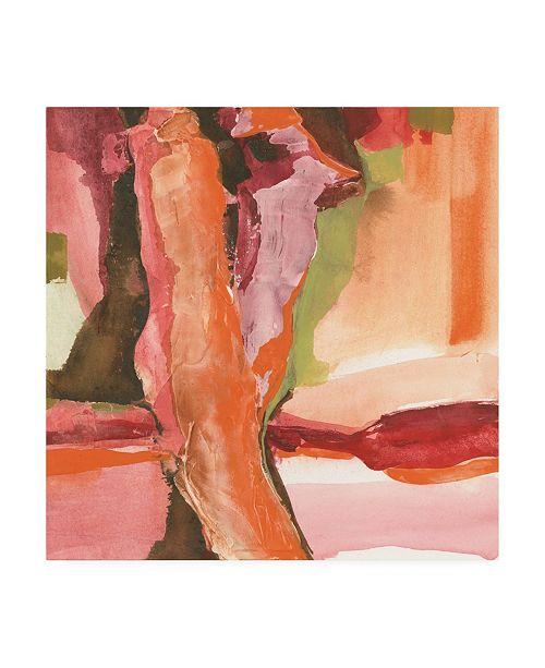 "Trademark Global Chris Paschke Rio Pink and Brown Canvas Art - 36.5"" x 48"""