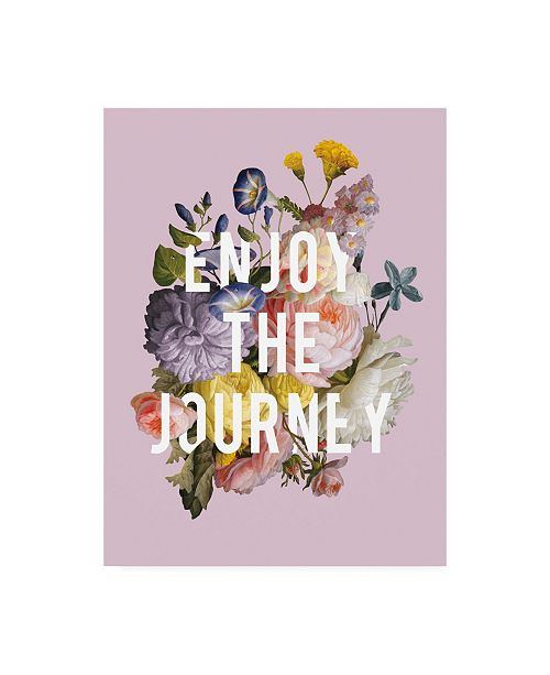 """Trademark Global Wild Apple Portfolio Floral Sentiment II Crop Canvas Art - 19.5"""" x 26"""""""