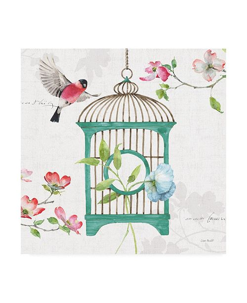 "Trademark Global Lisa Audit Dogwood Garden VII Canvas Art - 15.5"" x 21"""