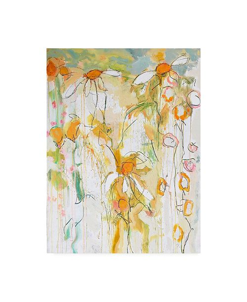 "Trademark Global Per Ander Sunshine Daisies Canvas Art - 36.5"" x 48"""