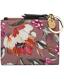 Nine West Floral Meadows Small Zip Wallet