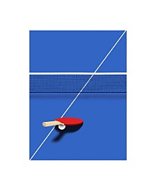 "Robert Farka Pingpong Canvas Art - 19.5"" x 26"""