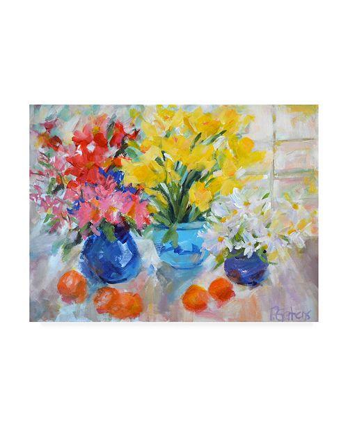 "Trademark Global Pamela Gaten Sunny Still Life Canvas Art - 36.5"" x 48"""