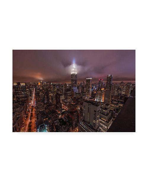"""Trademark Global Bruce Gett Empire Clouds Canvas Art - 15.5"""" x 21"""""""