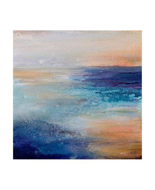 "Trademark Global Karen Hal Coastal Living Canvas Art - 15.5"" x 21"""