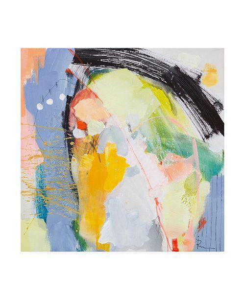 "Trademark Global Ira Ivanov Ira Ivanov Paint Expression Study 9 Canvas Art - 36.5"" x 48"""