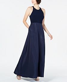 Halter Mikado Gown