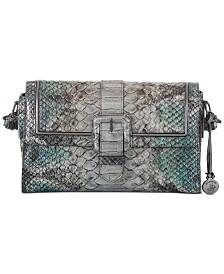 Brahmin Lana Folkand Leather Shoulder Bag
