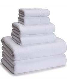 Cotton/Rayon from Bamboo 6-Pc. Towel Set