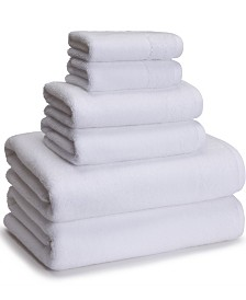 Cassadecor Cotton/Rayon from Bamboo 6-Pc. Towel Set