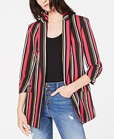 INC Striped Blazer, Created for Macy's