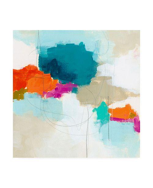 "Trademark Global June Erica Vess Atmospheric VI Canvas Art - 15"" x 20"""