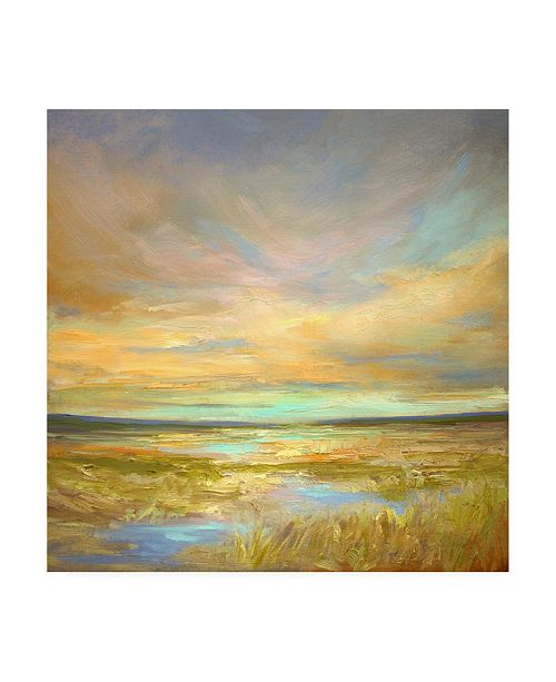 "Trademark Global Sheila Finch Morning Sanctuary Canvas Art - 27"" x 33"""