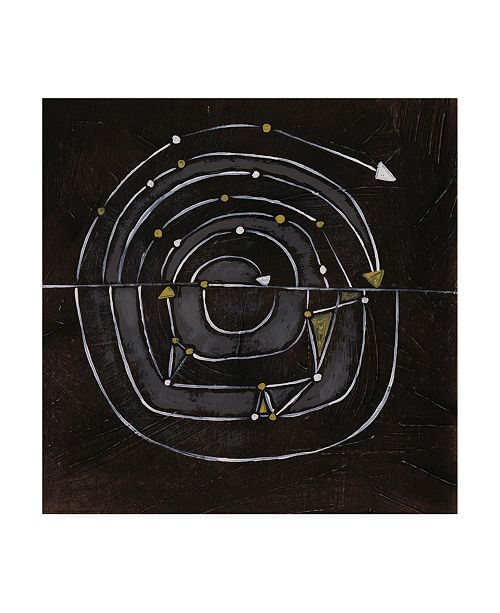 "Trademark Global June Erica Vess Algorithm IX Canvas Art - 15"" x 20"""