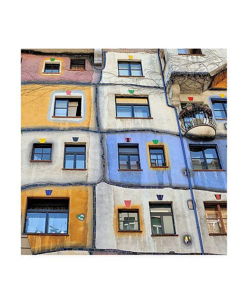 "Trademark Global Yair Tzur Windows of Hundertwasser Canvas Art - 20"" x 25"""