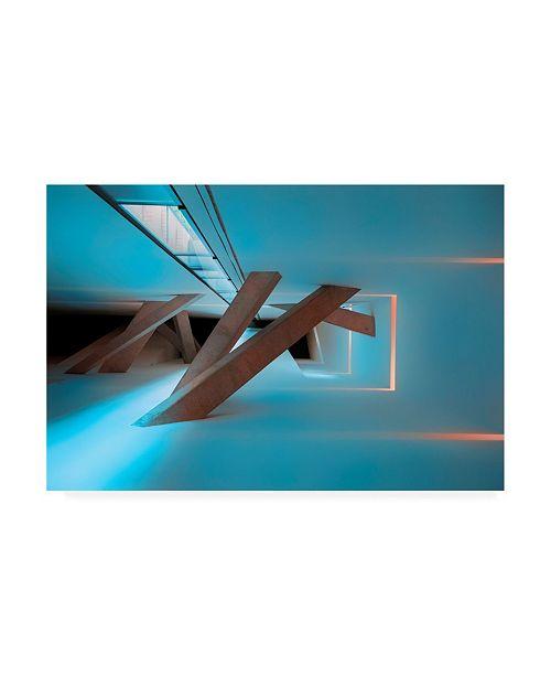"Trademark Global Jure Kravanja Transition Architecture Canvas Art - 20"" x 25"""