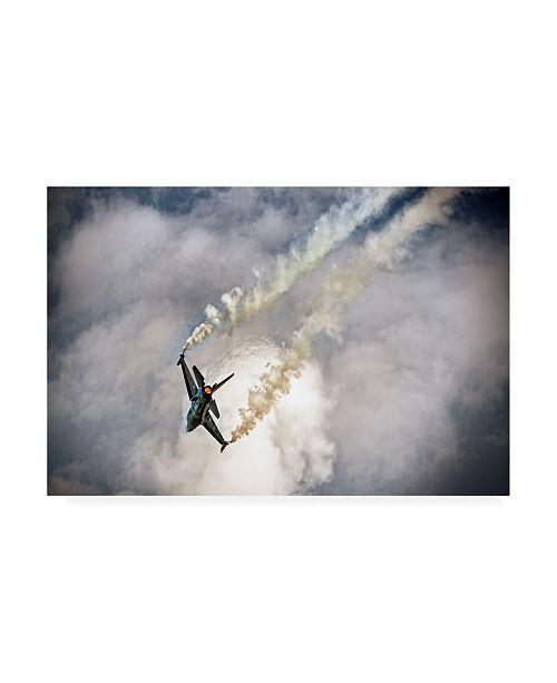 "Trademark Global Wim Schuurmans Super Jet Canvas Art - 15"" x 20"""