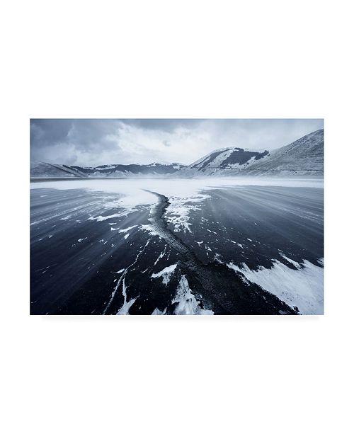 "Trademark Global Riccardo Lucidi Crack in the Ice Canvas Art - 20"" x 25"""