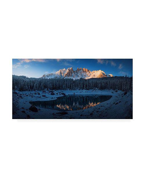 """Trademark Global Juan Pablo De The First Morning 3 Canvas Art - 37"""" x 49"""""""