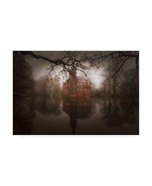"Trademark Global Saskia Dingemans Autumn Dream Haze Canvas Art - 15"" x 20"""