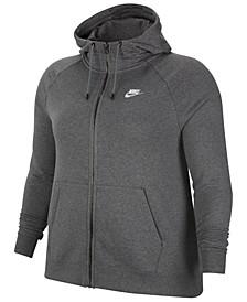 Sportswear Essential Plus Size Full-Zip Hoodie
