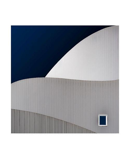 "Trademark Global Luc Vangindertael Lagrange Little Window Simple Canvas Art - 27"" x 33"""