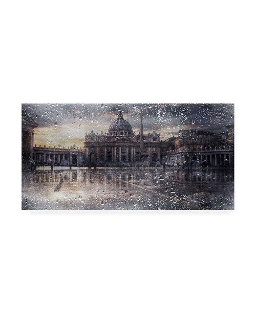 """Trademark Global Nicodemo Quaglia Basilica Di San Pietro Canvas Art - 37"""" x 49"""""""