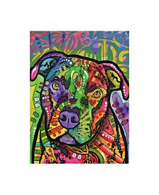 "Dean Russo Hank Stencil Canvas Art - 20"" x 25"""