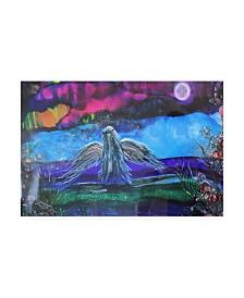 "Michelle Mccullough My Dark Angel Canvas Art - 37"" x 49"""