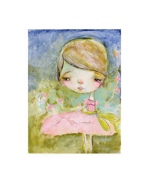 "Trademark Global Mindy Lacefield Love Dances Canvas Art - 37"" x 49"""