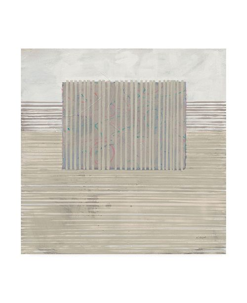 """Trademark Global Mike Schick Layer of Reality Neutral Canvas Art - 15"""" x 20"""""""