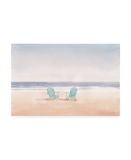 "Trademark Global James Wiens Salento Coast II Canvas Art - 20"" x 25"""