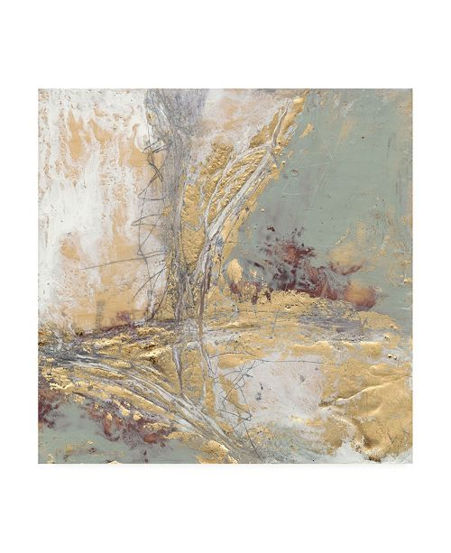 "Trademark Global Jennifer Goldberger Gilded Circuit II Canvas Art - 15"" x 20"""