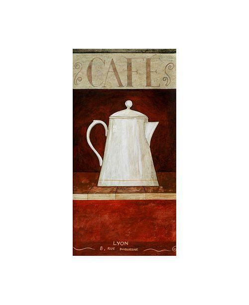 "Trademark Global Pablo Esteban White Pitcher in Red 2 Canvas Art - 19.5"" x 26"""