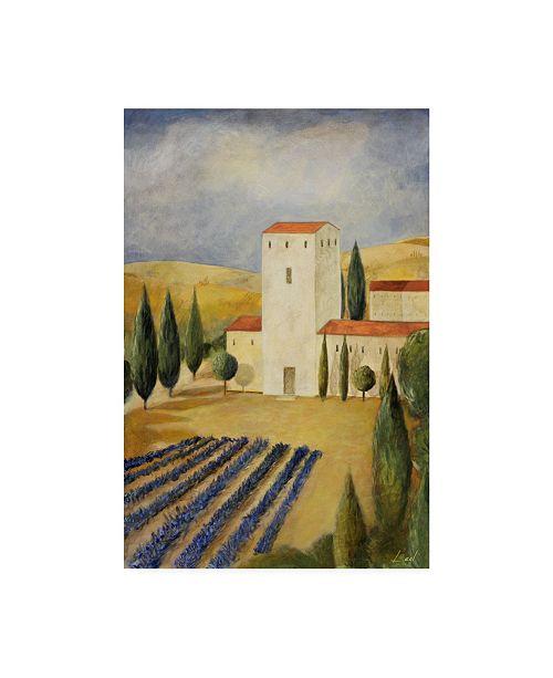 "Trademark Global Pablo Esteban Tuscan Farm 1 Canvas Art - 36.5"" x 48"""