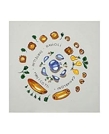 "Patricia A. Reed Ravioli Canvas Art - 15.5"" x 21"""
