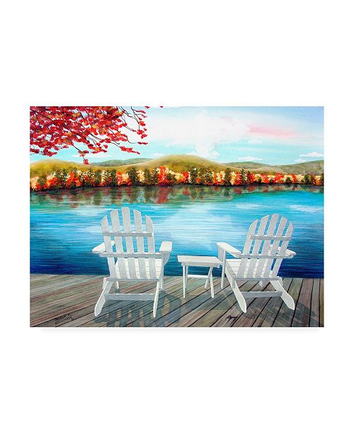 "Trademark Global Patrick Sullivan Lodge 05 Canvas Art - 19.5"" x 26"""